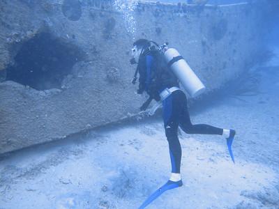 Underwater Movie Sets - Bond and Deep Blue - Bahamas 2008