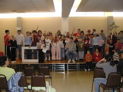 Church School Christmas Pageant Rehearsal - December 17, 2005
