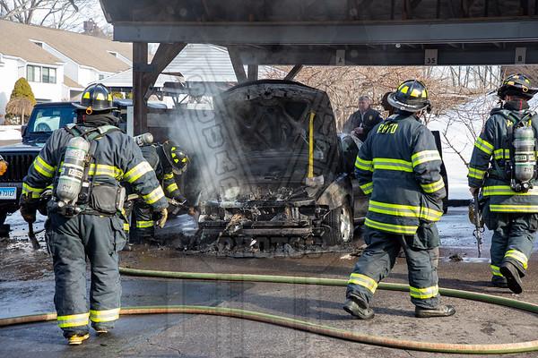 Rocky Hill, Ct Auto fire 1/24/20