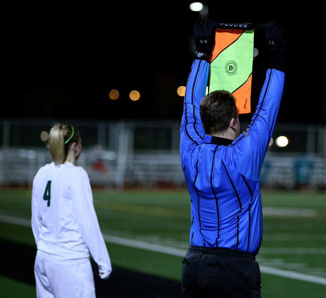 Woodinville High Girls Varsity Soccer verse Skyline High October 20, 2011, ©Neir
