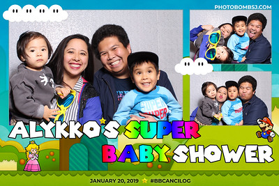 Alykko's Super Baby Shower