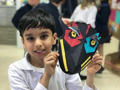 3rd Grade - African Masks