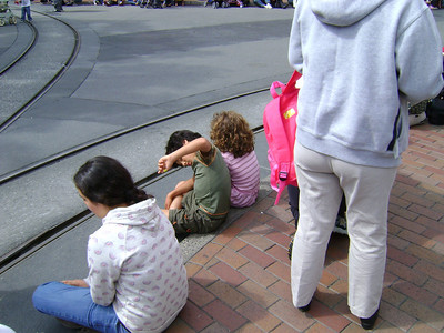 Ina & the kids 2008 visit (Disneyland +)