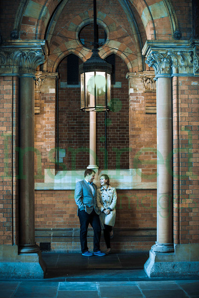 Alex & Nick Engagement Shoot - St Pancras International