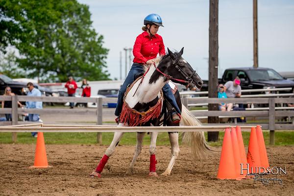 14. Keyhole - Horse, Sr. Rider