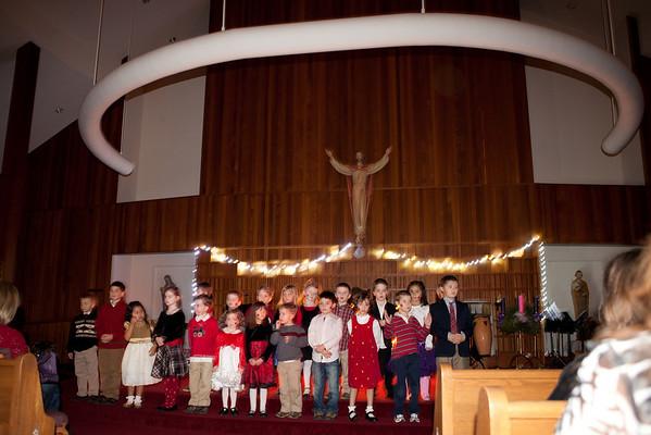 St. Francis Christmas Program 2010