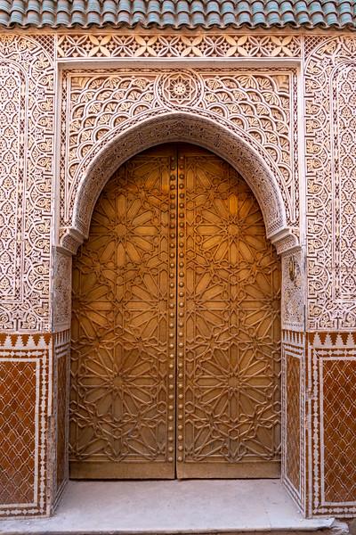 Door in Marrakech