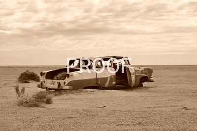Rusty relics Of the Australian Outback.