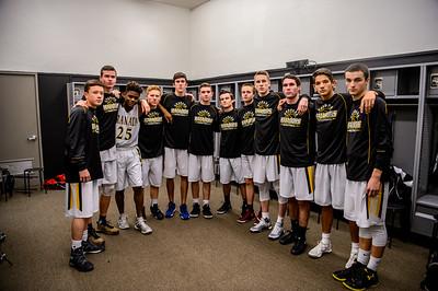 170203 GHS Varsity Men's Basketball (Amador Valley)