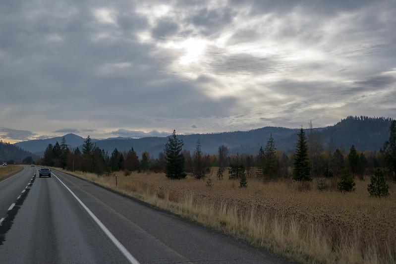 Idaho Panhandle Lowlands at Sunrise