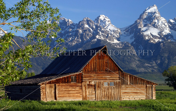 Grand Teton & Yellowstone National Parks....Two of the most scenic, photogenic locations in this, or any, country.