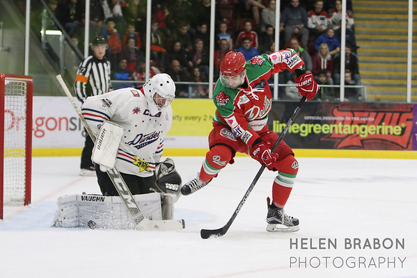 Cardiff Devils vs Dundee Stars QF Challenge Cup 21-12-16