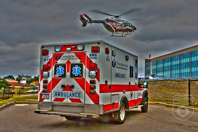 Photo Shoot - UMass Memorial Lifeflight, Worcester, MA - 8/15/2020
