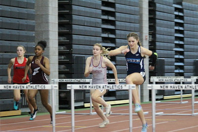 Girls 55m Hurdle Finals