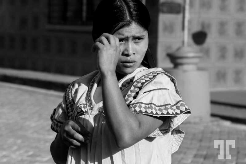 Kuna Yala young lady in Boquete, Panama