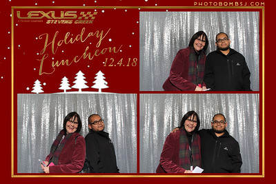 Lexus of Stevens Creek's Holiday Luncheon