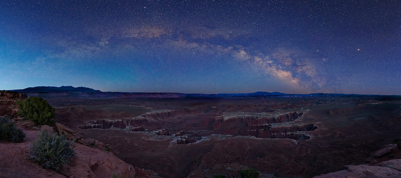 Grand View Milky Way Pano