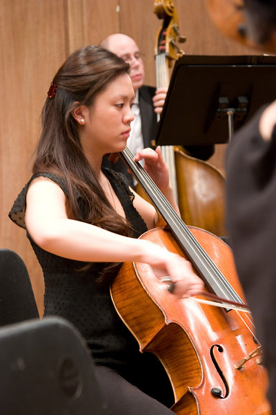 Stephanie Hsu, cello -- Hopkins Symphony Orchestra, March 2008