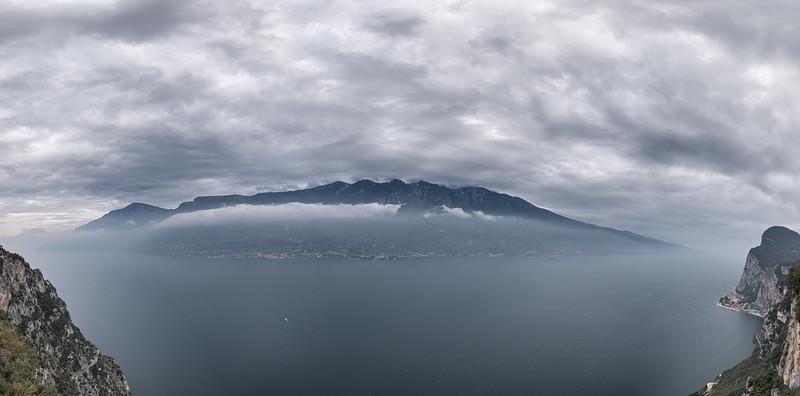 Lake Garda - Terrazza del Brivido, Tremosine, Brescia, Italy - October 18, 2019