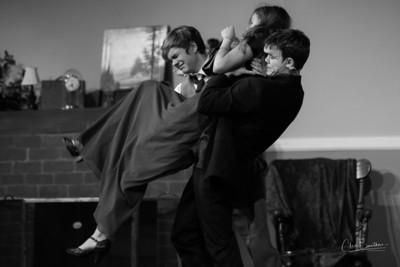 Dress Rehearsal-1  Black & White