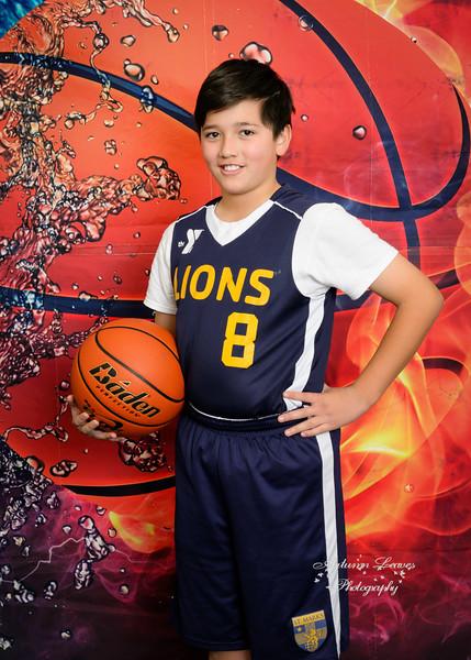 5B Blue Lions - TNYMCA Basketball