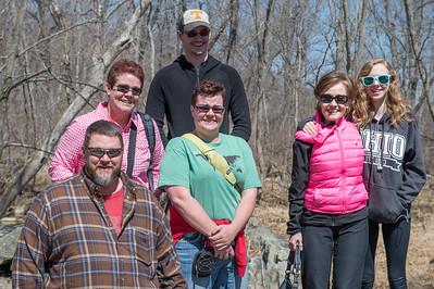 Tommy, Chris, Jordan, Logan Visit April 2015