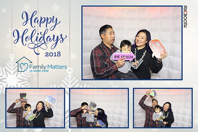 12.07.2018 Family Matters Holiday Party