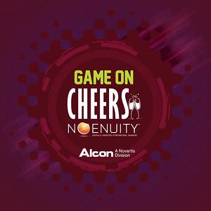 Game on Cheers | Alcon Tirinhas