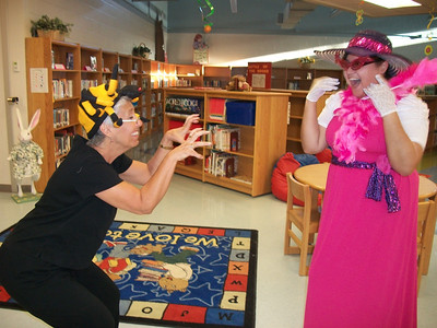Binion Elementary Favorite Story Book Character Day