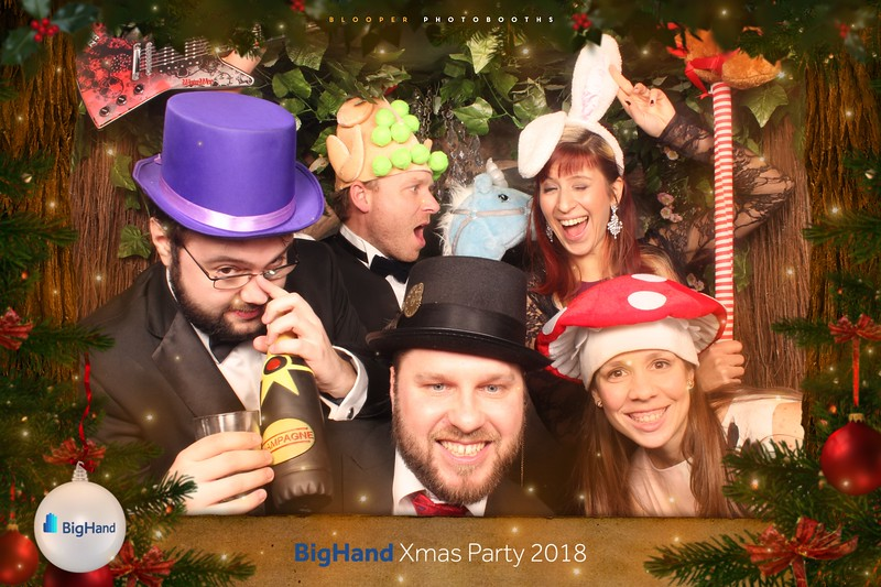 BigHand Xmas Party 2018