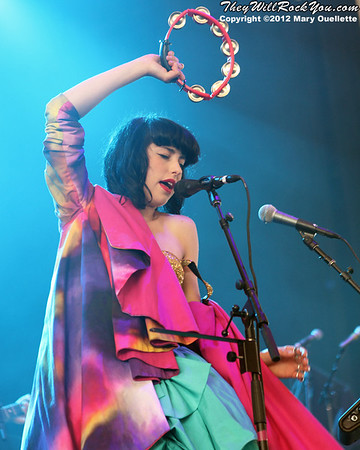 Kimbra <br> June 15, 2012 <br> BOA Pavilion - Boston, MA <br> Photos by: Mary Ouellette