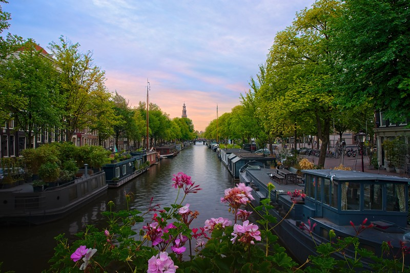Princengracht view - HDR