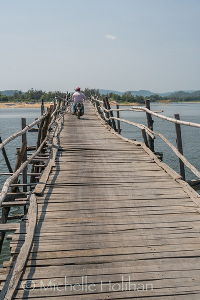 Cầu Gỗ Ông Cọp Wooden Bridge, Vietnam