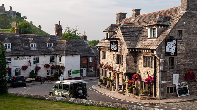 Pubs in Corfe Castle village