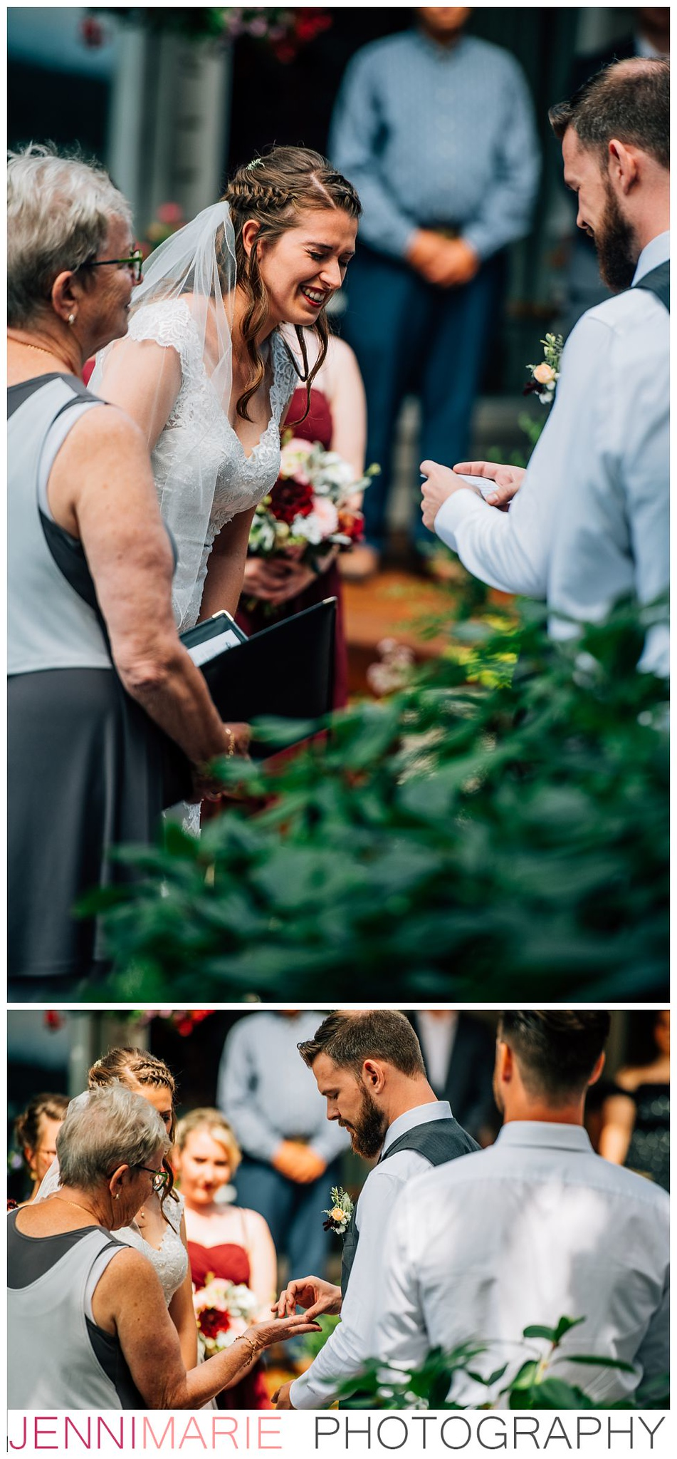 langley backyard wedding near campbell valley park