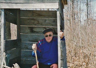 1995 Gary in Deer Blind