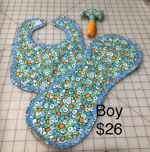 3 PEACE BABY SET - BOY