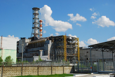 Chernobyl Reactor 4 area 2012.