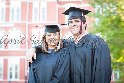 Erin & Sloan graduate!