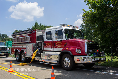 07/20/2019, 2 Alarm Structure, Maurice River Twp. Cumberland County NJ, 7249 Millville Mays Landing Rd.