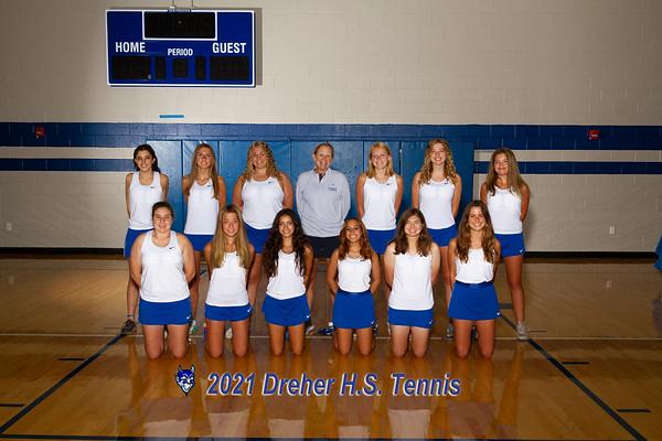 2021 Varsity Girl Tennis