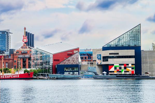 Baltimore Harbor & Museum - Aug 2017