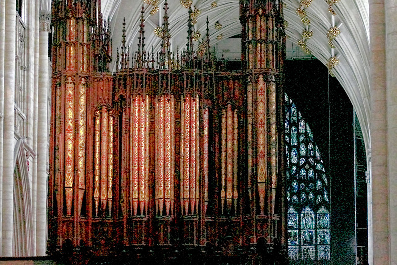 The Organ in Lincoln Cathedral