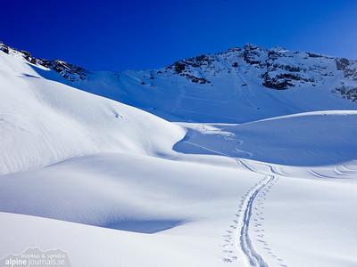 Walser Hammerspitze ski tour and Hochgehrenspitze attempt 2015-02-11