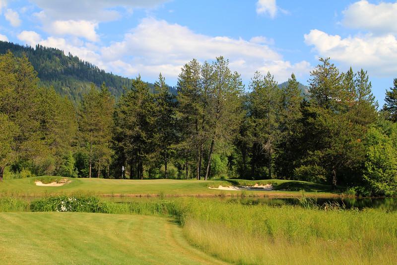 The Idaho Club, Sandpoint, ID - Hole #14