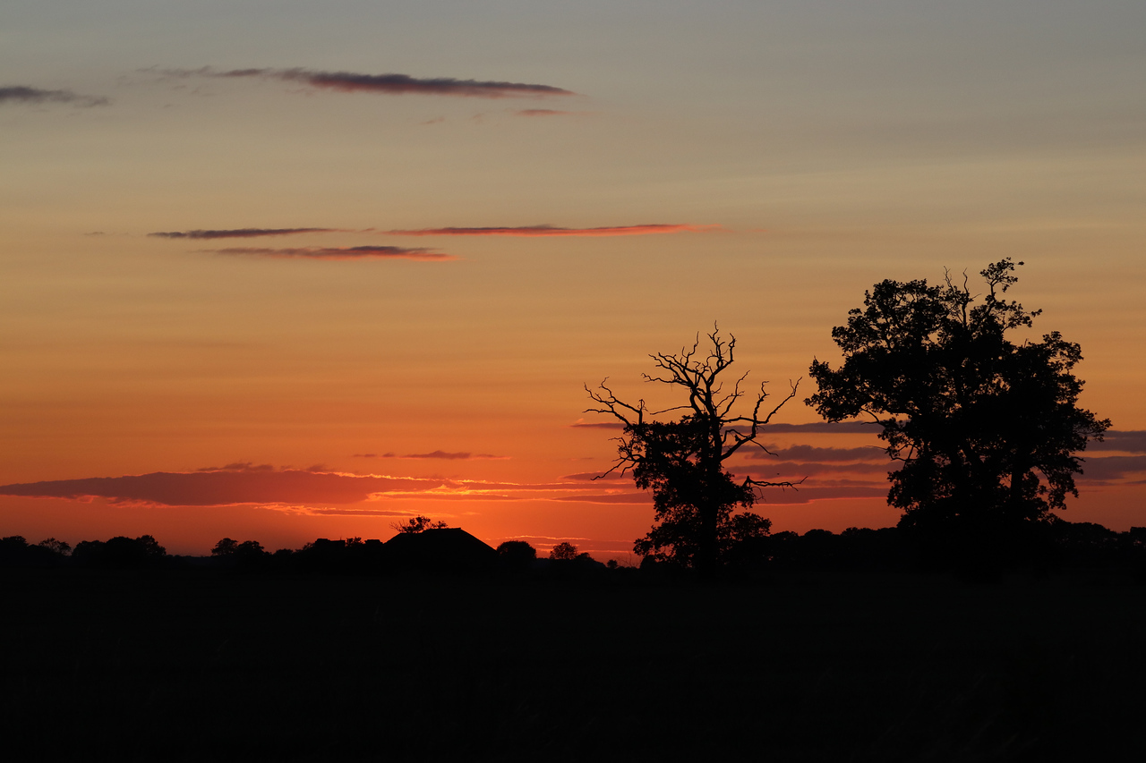 Sunset in Woodhal Spa