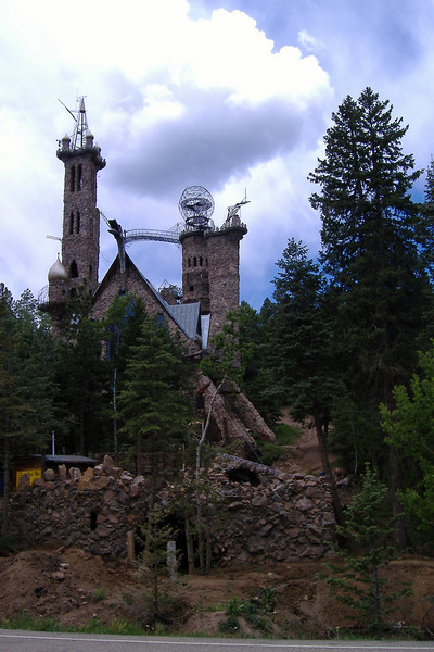 Bishop's castle, under construction by one man since 1969.