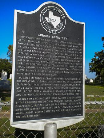 Aurora Cemetery, Aurora, Texas