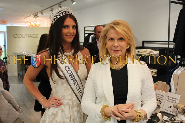 Francine LeFrak and Same Sky Celebrate Mother's Day at COURAGE b, Greenwich, CT