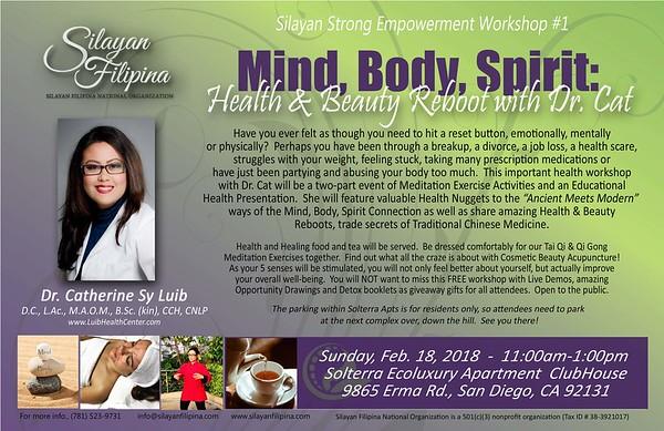 Mind, Body, Spirit Workshop